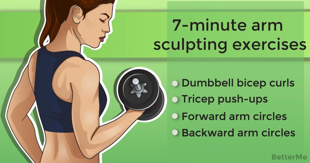 7-minute arm sculpting exercises