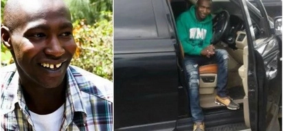 Mtangazaji wa redio aliyewahi kuwa CHOKORAA sasa anaendesha la gari aina ya Range Rover (picha)