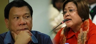 De Lima reacts to Duterte's comments; this is what the president told her