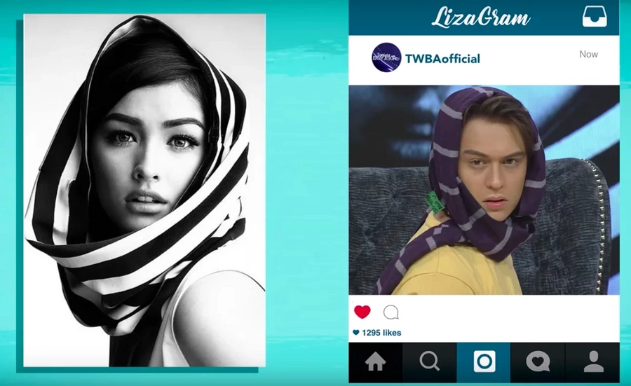 "Kalevel ang ganda: Enrique Gil proves he can be like the ""World's Most Beautiful Face"" like Liza Soberano"