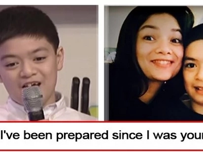 "May ipakilala na kaya ang kanyang mommy? Meryll Soriano's son Elijah is so ready to have a new ""daddy"""