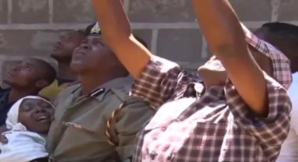 Nyeri captured on camera on the verge of killing himself