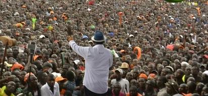 Uhuru running IEBC from State House - Raila Odinga