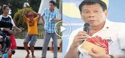 Video of President Rodrigo Duterte dancing Budots dance craze went viral