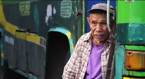 This old man begs in the streets to save for his own coffin