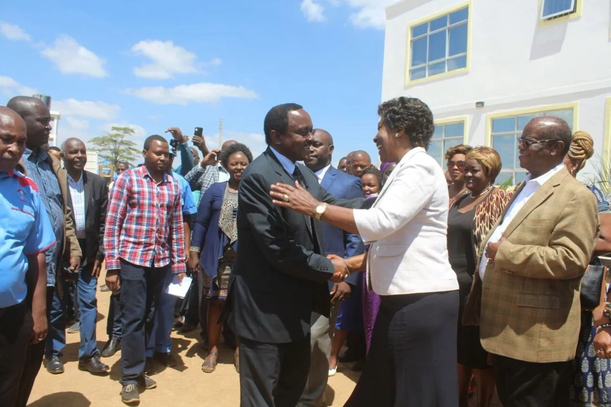 Since there is no dialogue, swearing in still on – Kalonzo Musyoka