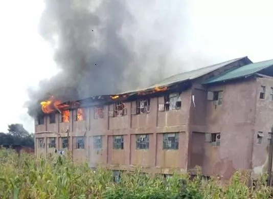 Dormitory at St Andrew's Kagwa Boys in Nyamira set on fire