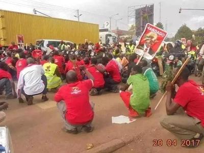 TAMBIKO la Kikalenijin mjini Eldoret likiongozwa na Gavana Jackson Mandago lazua TAHARUKI (video)