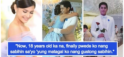 Humingi pa ng permiso sa lola! Video of Miguel Tanfelix confessing his true feelings for 'soulmate' Bianca Umali on her debut