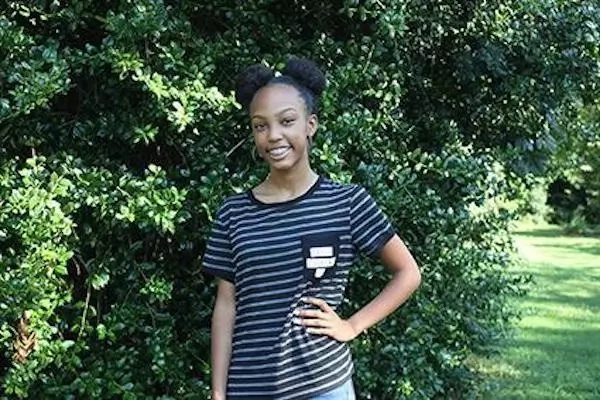 Kimora Hudson has started college at the age of 13. Photo: University of West Georgia