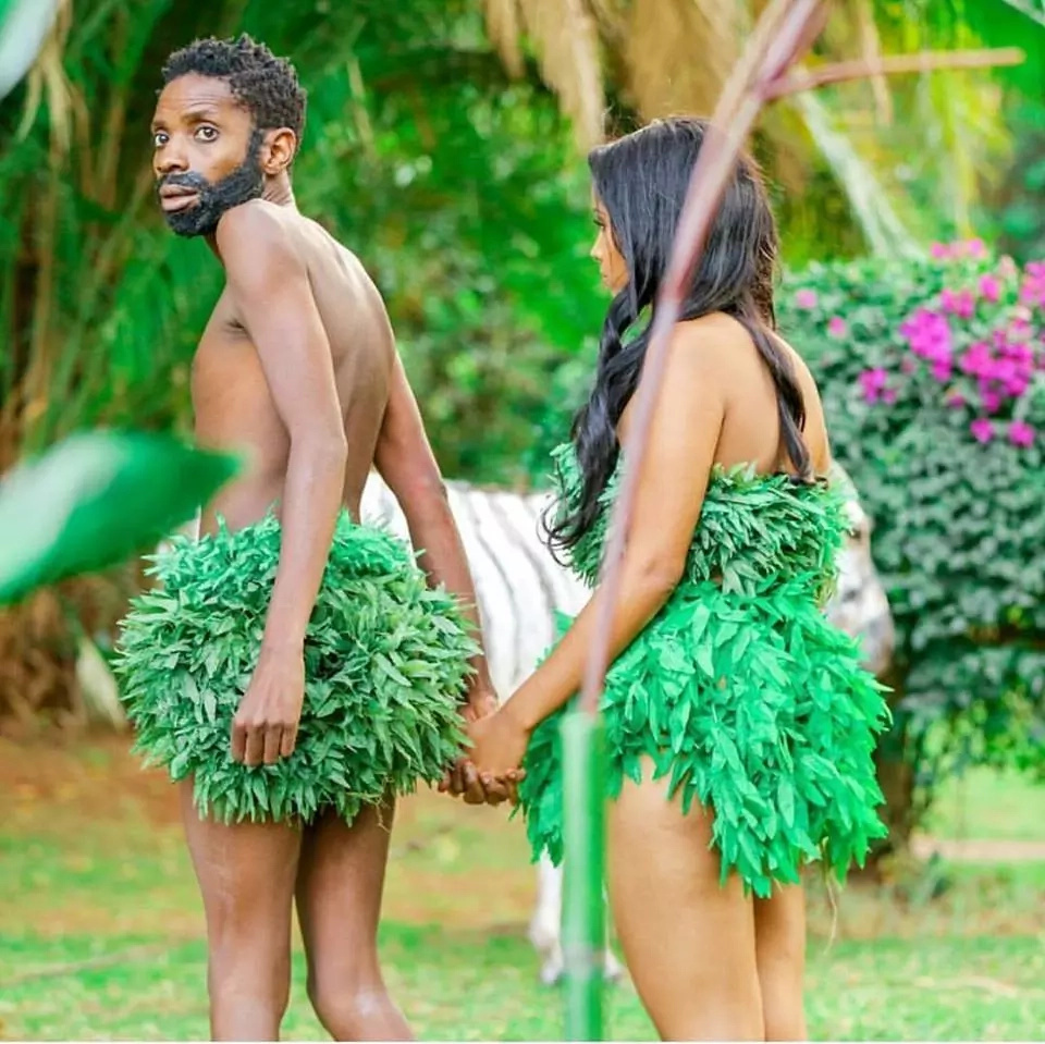 eric omondi and his girlfriend release their anticipated clip