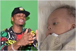 Diamond Platnumz spends a fortune on super expensive cars for his 3-month-old son (Photo)
