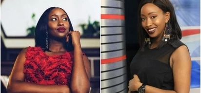 Former Citizen TV's news anchor Janet Mbugua flaunt her bulging tummy in jumpsuit and she looks hot AF
