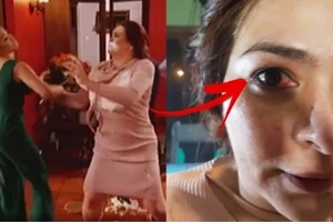 Natotohanan pala! Maja Salvador accidentally hurts Aiko Melendez in the eye in 'Wildflower'