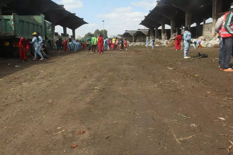 8 photos of super-clean Nairobi's Wakulima market near Muthurwa after Sonko's plan for Nairobi