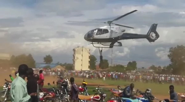 Pilot of Bungoma 'James Bond' chopper speaks
