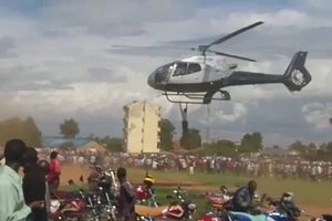 Pilot of the chopper Bungoma man hanged on narrates the experience