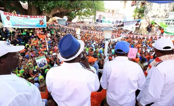 Raila to sack Marwa if elected president