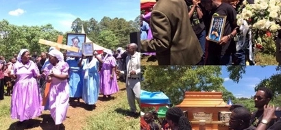 TEARS and PAIN as Churchill Show comedian Aiyeya is buried (photos)