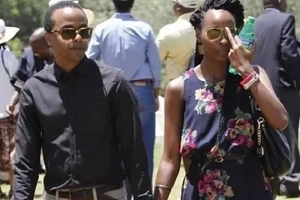 Uhuru's daughter-in-law seen partying hard under tight security