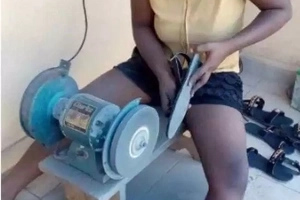 Meet the CUTE graduate who has melted Kenyans hearts after becoming a shoemaker instead of complaining there are no jobs