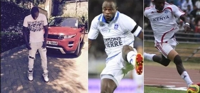 16 stunning photos of football legend Dennis Oliech that made Kenyans envious