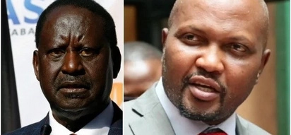 At this point, Raila needs to visit a mental hospital - Moses Kuria says after NASA leader announces his inauguration date