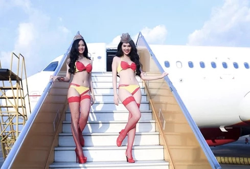 Welcome Aboard: The 'Bikini' Airline And Its Lady CEO