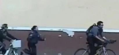 La valiente mujer policía que venció a un ladrón de bicicletas en México. Te encantará…