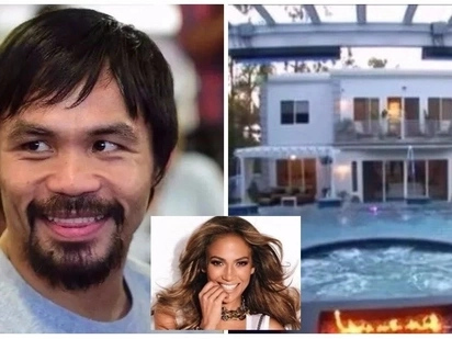 Manny Pacquiao buys this Beverly Hills mansion that once belonged to Jennifer Lopez and it speaks of luxury in every corner!