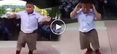 Pampa good vibes! This kid's dance moves and antics will make you laugh your heart out