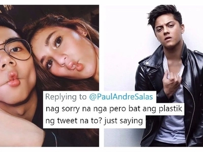 Plastik lang daw ang pag-sorry niya! Netizens doubt the sincerity of Paul Salas' apology to Daniel Padilla!