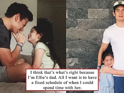 Jake Ejercito Files Joint Custody Case Over Daughter Ellie Eigenmann, Admits To Not Being On Speaking Terms with Andi