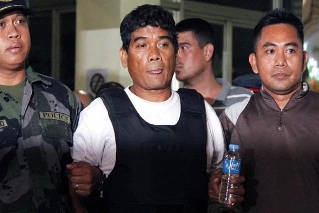 Dayan was captured in La Union last November 22. (Photo credit: PNA)