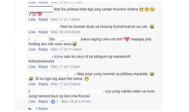 """Sa Jollibee, Bida Ang Gwapo"".. Another Crew Is Going Viral"