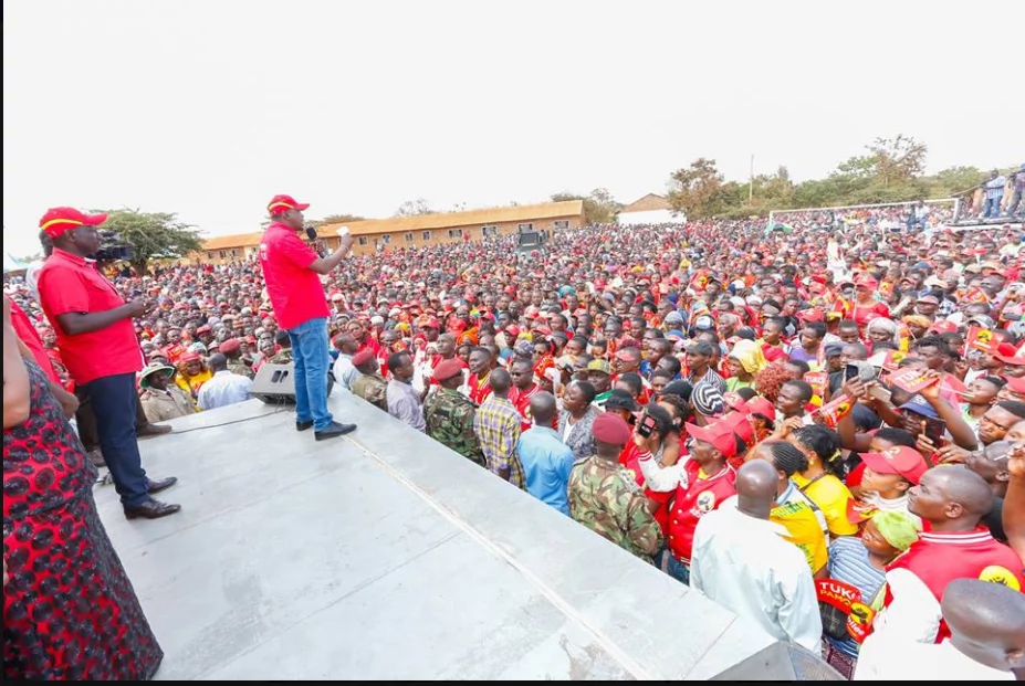 Uhuru shuts down Raila with job offer following attacks on Matiangi