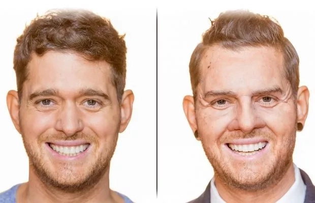Michael Bublé went undercover as a South African shop assistant. Photo: Goodthingsguy.com