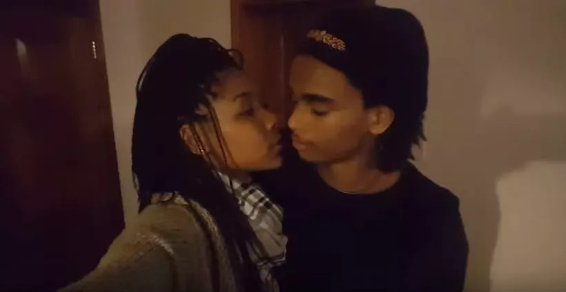 See the pretty Youtuber that Kibaki's grandson is dating