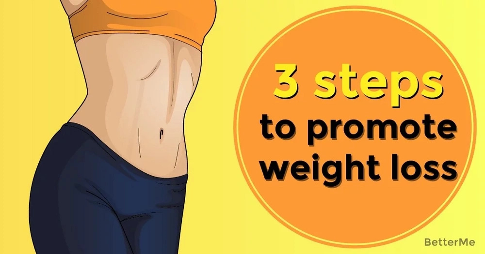 3 steps to promote weight loss