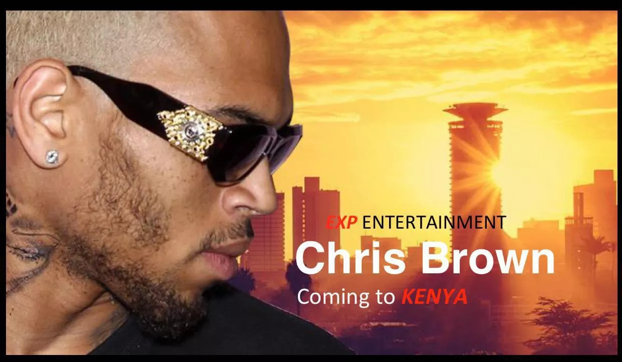 American A-list singer Chris Brown rumored to be travelling to Kenya