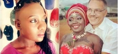 Nyota Ndogo na mumewe mzungu wanatarajia mtoto wao wa kwanza