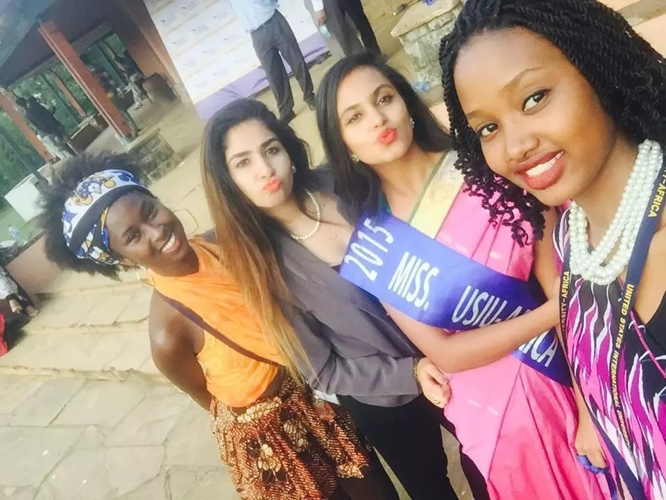 USIU student fight to defend their Miss after she was called ugly