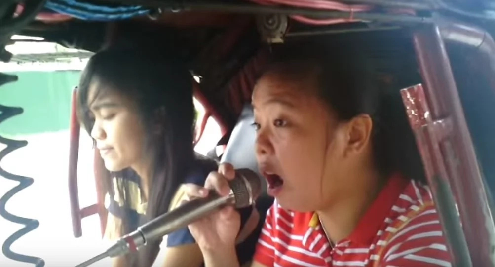 Viral video features powerful voice of Pinay tricycle passenger