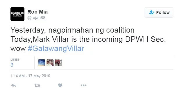 Netizens to Mark Villar as DPWH secretary: No delicadeza