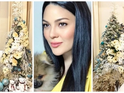 Bongga talaga! KC Concepcion gives us a glimpse of her luxurious house and Christmas tree