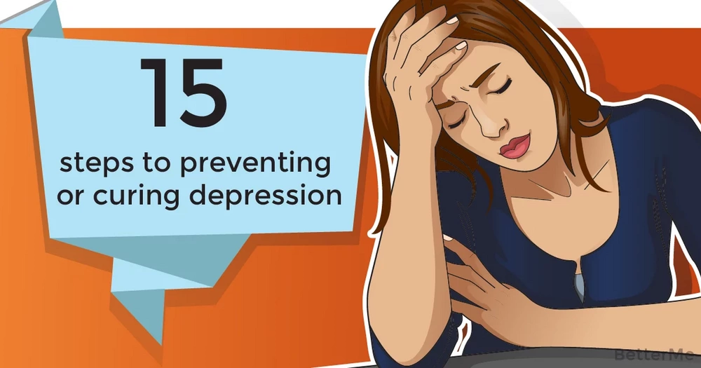 15 steps to preventing or curing depression