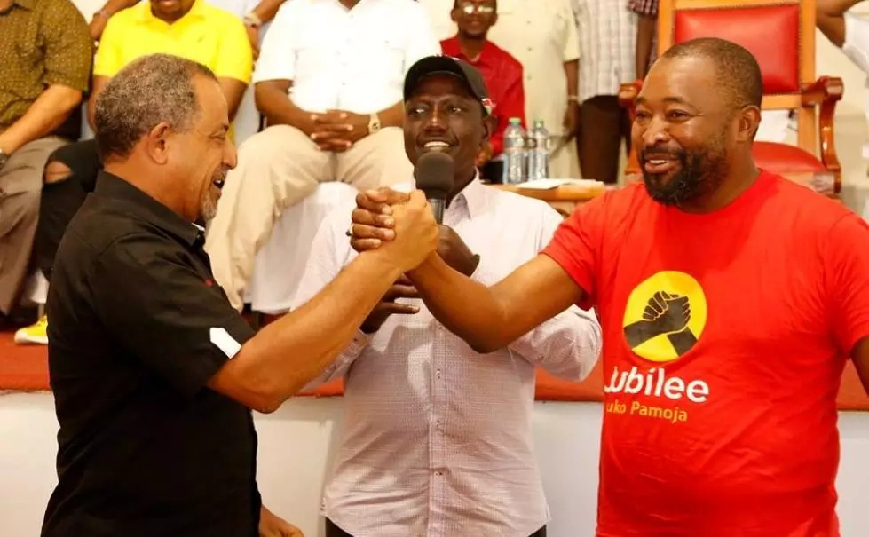Jubilee point man in Mombasa agrees with Joho's accusations on Uhuru