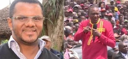 Hassan Omar ditches Raila for Uhuru