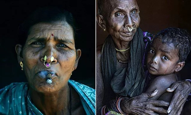 These heavily pierced women smoke cigar, live on hills and fear no one when it comes to their lands