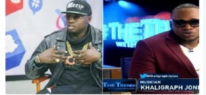 Vera Sidika move over! Khaligraph Jones takes over the internet with a fresh bleaching vibe
